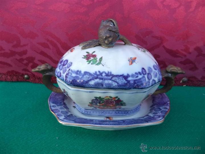 SOPERA DE CERAMICA (Antigüedades - Porcelanas y Cerámicas - Otras)
