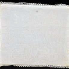 Antigüedades: ANTIGUA PALIA O CUBRE CÁLIZ EN ROPA DE LINO. CIRCA 1900. Lote 44987426