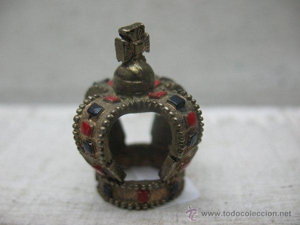 ANTIGUA CORONA PEQUEÑA PARA DECORAR (Antigüedades - Hogar y Decoración - Otros)