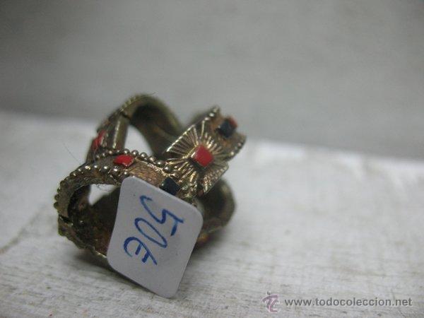 Antigüedades: Antigua corona pequeña para decorar - Foto 3 - 44996382