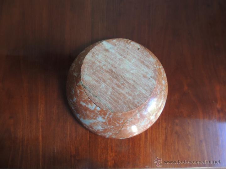 Antigüedades: CENTRO DE MESA DE MARMOL ROSA ART DECO - Foto 5 - 45038089