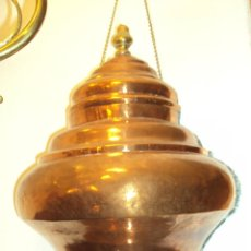 Antigüedades: AGUAMANIL - FUENTE MURAL COBRE. Lote 45053296