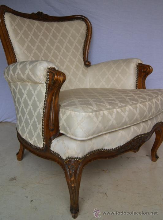 Tresillo franc s sof y 2 sillones tapicer a comprar - Sillones estilo frances ...