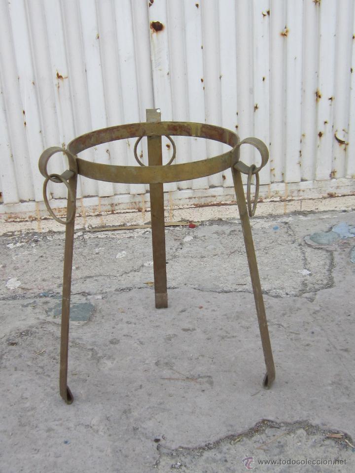 Macetero en hierro de forja comprar maceteros antiguos en todocoleccion 48393218 - Maceteros de forja ...
