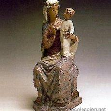 Antigüedades: VIRGEN SENTADA (S.L.) FIGURA LLADRÓ SERIE LIMITADA. Lote 45074551