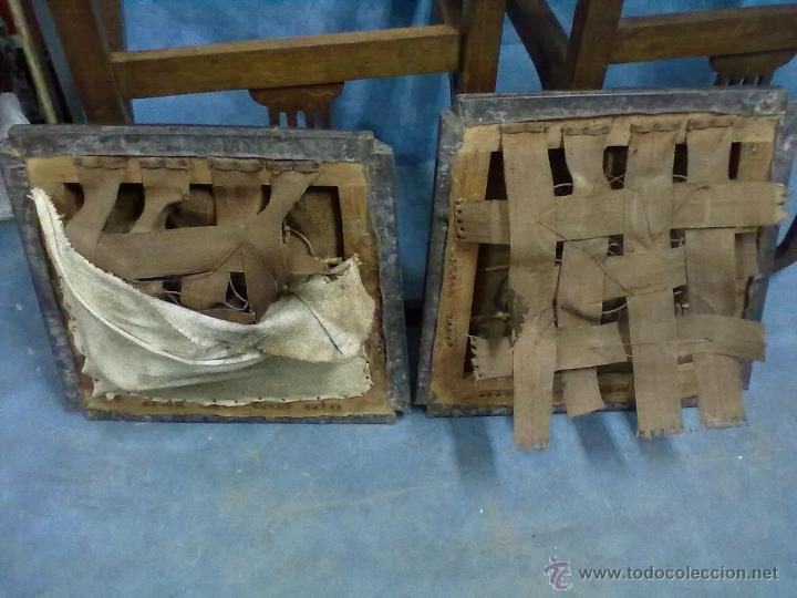 Antigüedades: PAREJA SILLONES MODERNISTA ART DECO PARA RESTAURAR - Foto 13 - 45079897