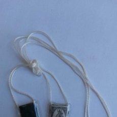 Antigüedades: ESCAPULARIO VIRGEN DEL CARMEN. Lote 45080756