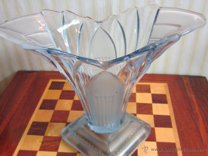 JARRON ART DECO CRISTAL (Antigüedades - Cristal y Vidrio - La Granja)
