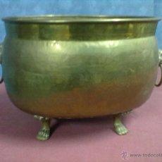 Antigüedades: CENTRO MESA METAL. Lote 45093631