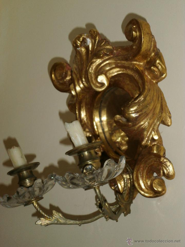 Antigüedades: ESPEJO CORNUCOPIA. SIGLO XVIII. - Foto 2 - 147300710