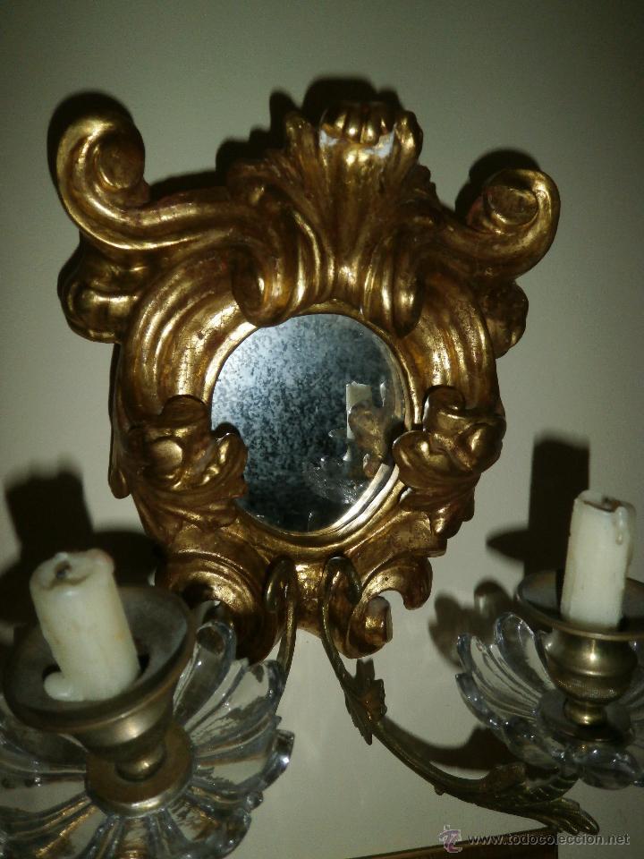 Antigüedades: ESPEJO CORNUCOPIA. SIGLO XVIII. - Foto 3 - 147300710