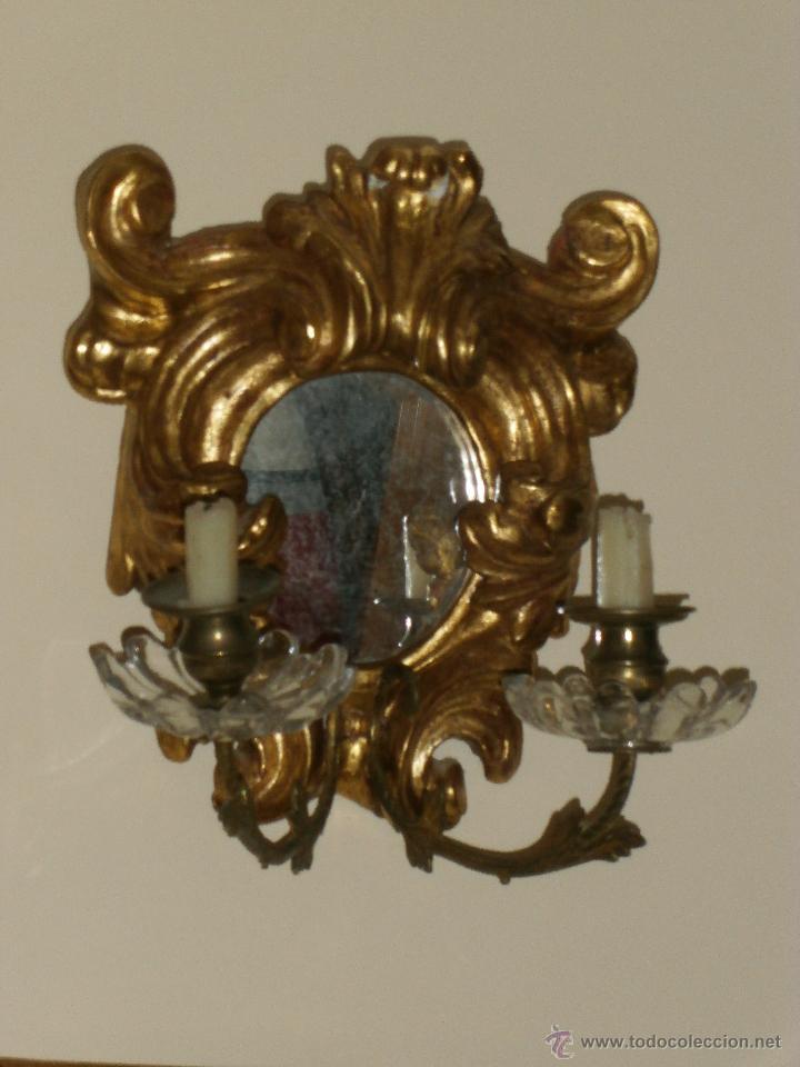Antigüedades: ESPEJO CORNUCOPIA. SIGLO XVIII. - Foto 5 - 147300710