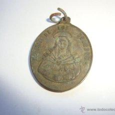 Antigüedades: ANTIGUA MEDALLA RELIGIOSA NUESTRA SEÑORADE LOS DOLORES DE P.P.S.XX. Lote 45119679
