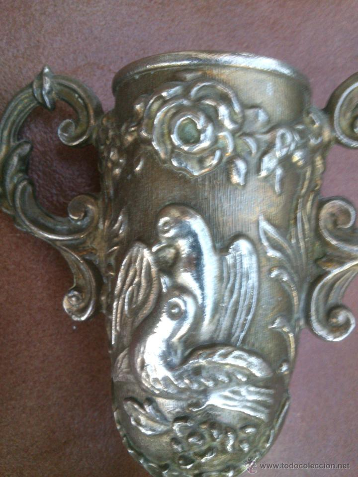Antigüedades: PAREJA DE COPAS LABRADAS - Foto 2 - 45127437