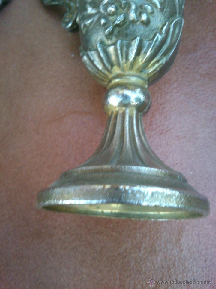 Antigüedades: PAREJA DE COPAS LABRADAS - Foto 4 - 45127437