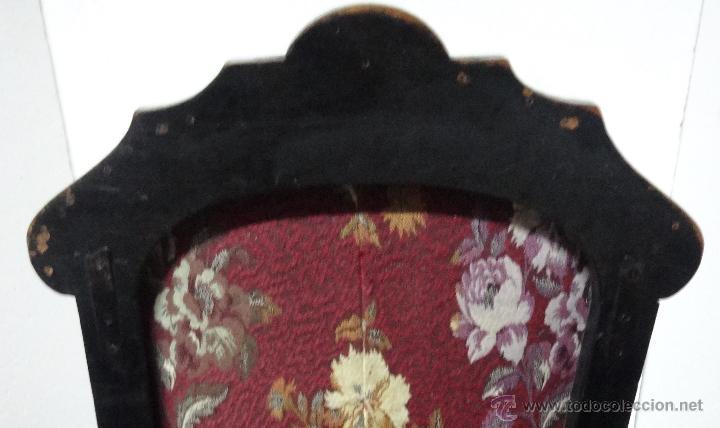 Antigüedades: BUTACAS MADERA CAOBA SIGLO XX, 6000-255 - Foto 6 - 43780774