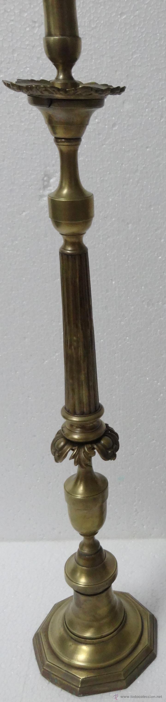 Antigüedades: CANDELABROS PAREJA BRONCE SIGLO XX - 958 - Foto 5 - 43843879