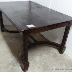 Antigüedades: MESA MADERA ROBLE- 302. Lote 43842373
