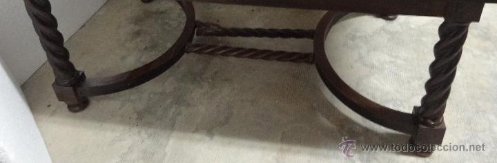 Antigüedades: MESA MADERA ROBLE- 302 - Foto 4 - 43842373