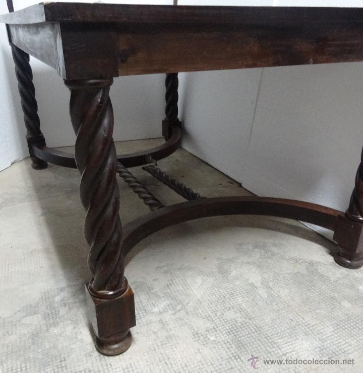Antigüedades: MESA MADERA ROBLE- 302 - Foto 6 - 43842373