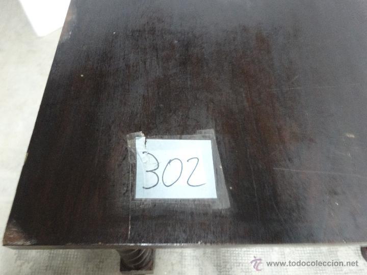 Antigüedades: MESA MADERA ROBLE- 302 - Foto 7 - 43842373
