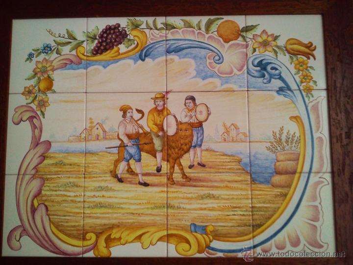 Cuadro mural ceramico de la muy noble y artist comprar - Murales de ceramica artistica ...