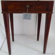 Antigüedades: MESITA MADERA SIGLO XX- 322. Lote 43842661