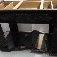 Antigüedades: CONSOLA EN MADERA DE CAOBA DE PRINCIPIOS DEL SIGLO XIX. Lote 43837685