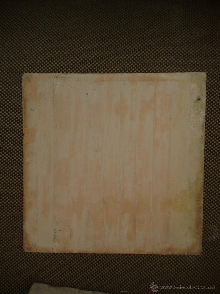 Antigüedades: azulejo Valenciano 20x20 - Foto 2 - 45149450