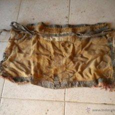 Antigüedades: ALBARDA PARA BURRO CON PAR DE ESTRIBOS. Lote 45155875