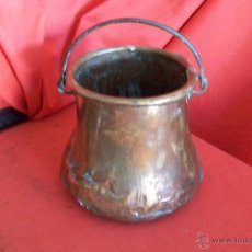 Antigüedades: MARMITA O CALDERO. Lote 45169965