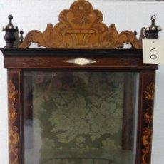 Antigüedades: VITRINA SIGLO XIX-XX - 6. Lote 43442655