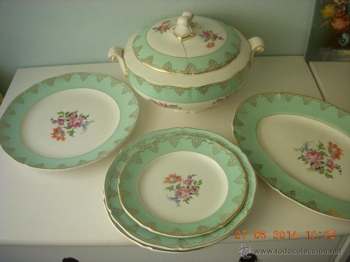 Antigua y preciosa vajilla porcelana francesa comprar for Vajilla de porcelana inglesa