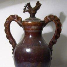 Antigüedades: EXCEPCIONAL AGAUMANIL DE CERAMICA. Lote 45181832