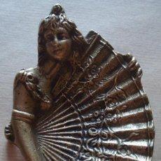 Antigüedades: ANTIGUO CENICERO EN BRONCE ESTILO MODERNISTA . Lote 45198796