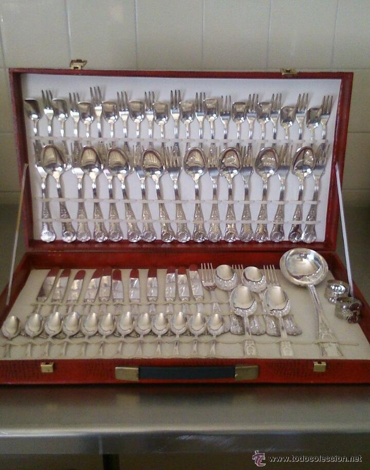 Antigua cuberteria italiana de plateada arg 800 comprar objetos plater a antigua en - Precio cuberteria plata ...