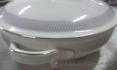 Antigüedades: Espectacular vajilla de 125 piezas de porcelana marca eschenbach bavaria-germany 1920 . - Foto 14 - 45203644