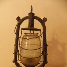 Antigüedades: CANDIL O QUINQUE ANTIGUO DE HOGAR - CIKLOP FBP. Lote 45212558