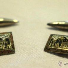 Antigüedades: ANTIGUOS GEMELOS CON PAISAJE DEL MAGREB. Lote 45221172