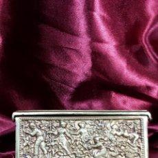 Antigüedades: CAJA DE METAL. Lote 45231689