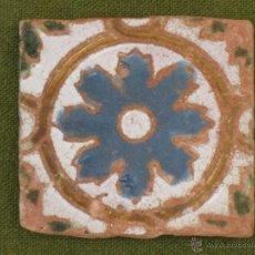 Antigüedades: AZULEJO ANTIGUO DE TOLEDO. ARISTA. RENACIMIENTO. SIGLO XVI.. Lote 45231987