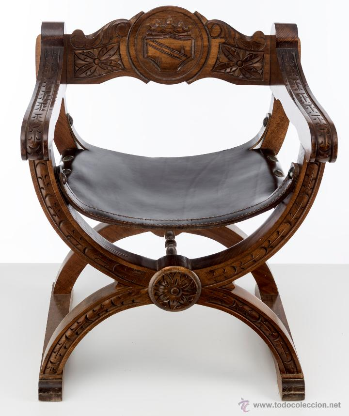 Preciosa jamuga antigua de madera comprar sillones - Sillones de madera antiguos ...