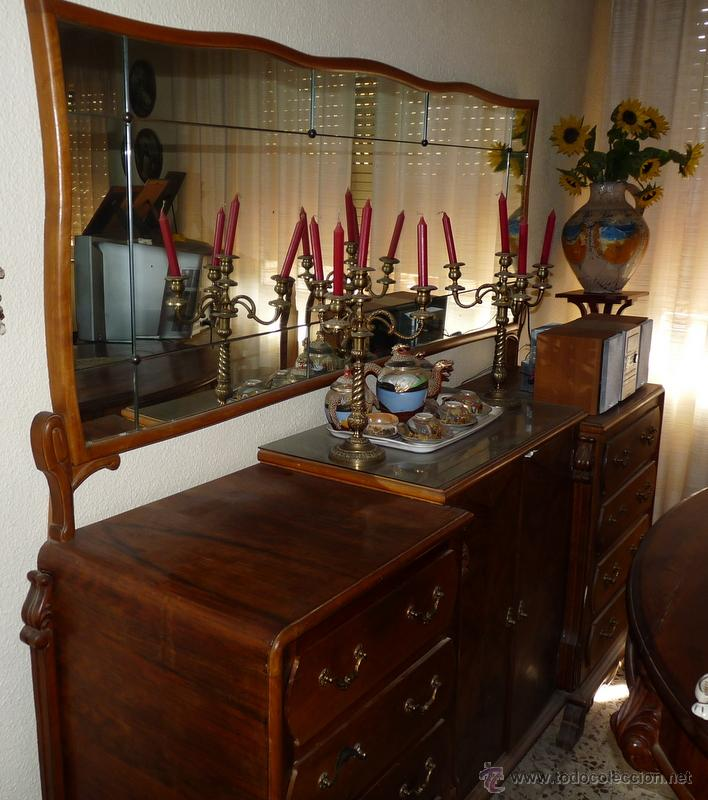 Aparador Comedor Antiguo ~ comedor antiguo mesa, 6 sillas y aparador Comprar Aparadores Antiguos en todocoleccion 45243269