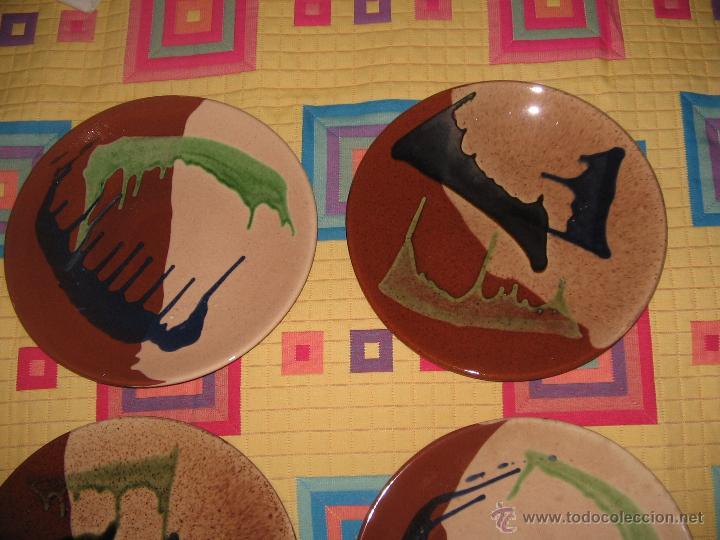 Antigüedades: Platos cerámica - Foto 2 - 45247124