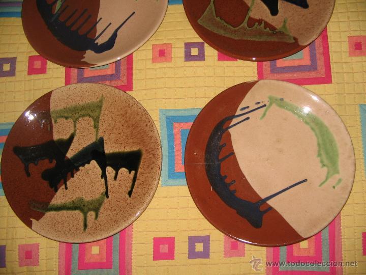 Antigüedades: Platos cerámica - Foto 3 - 45247124
