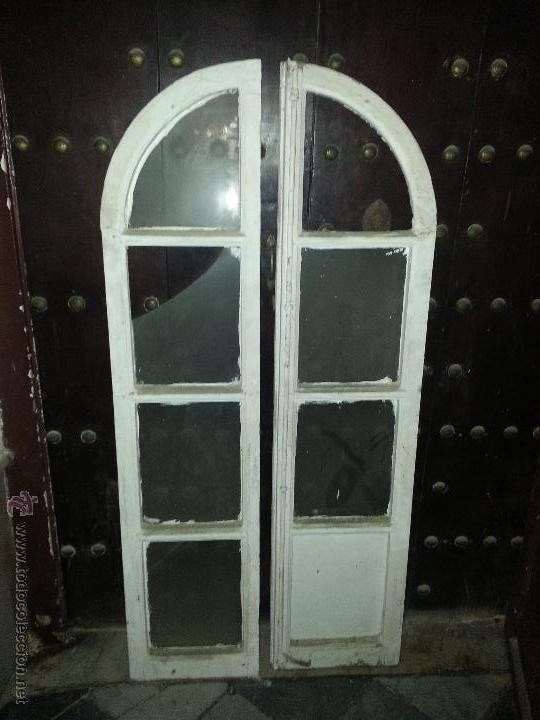 2 antiguas hojas puertas de madera para alacena comprar for Puertas antiguas de madera de 2 hojas
