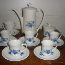 Antigüedades: JUEGO DE CAFE PONTESA AÑOS 40-50. Lote 45251856