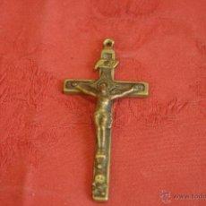 Antigüedades: CRUZ DE BRONCE. Lote 45274192