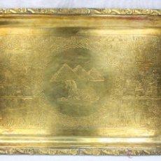 Antigüedades: BANDEJA EGIPCIA. FUENTE.. Lote 45277461