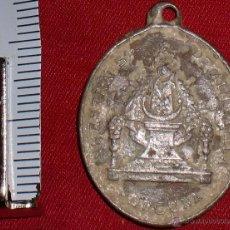 Antigüedades: ANTIGUA MEDALLA 1920 CRISTO DE LA PIEDAD Y VIRGENE DE ALHARILLA PORCUNA. Lote 113166998